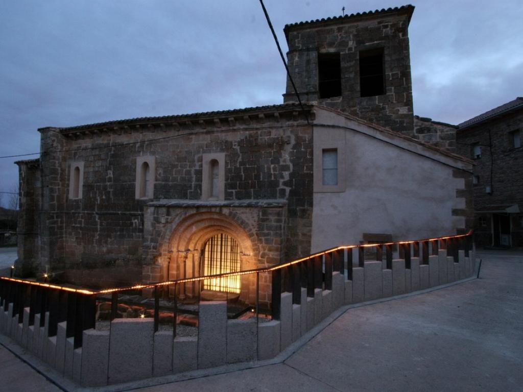 Intervención realizada en los entornos de la iglesia. Archivo FSMLRPH_José Manuel Rodríguez Montañés