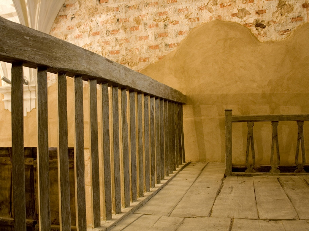 Coro del templo, tras la restauración