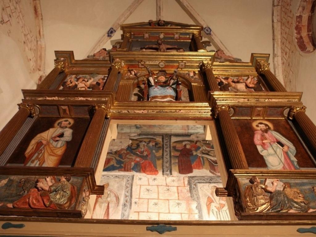 Becerril del Carpio - Iglesia de San Pedro