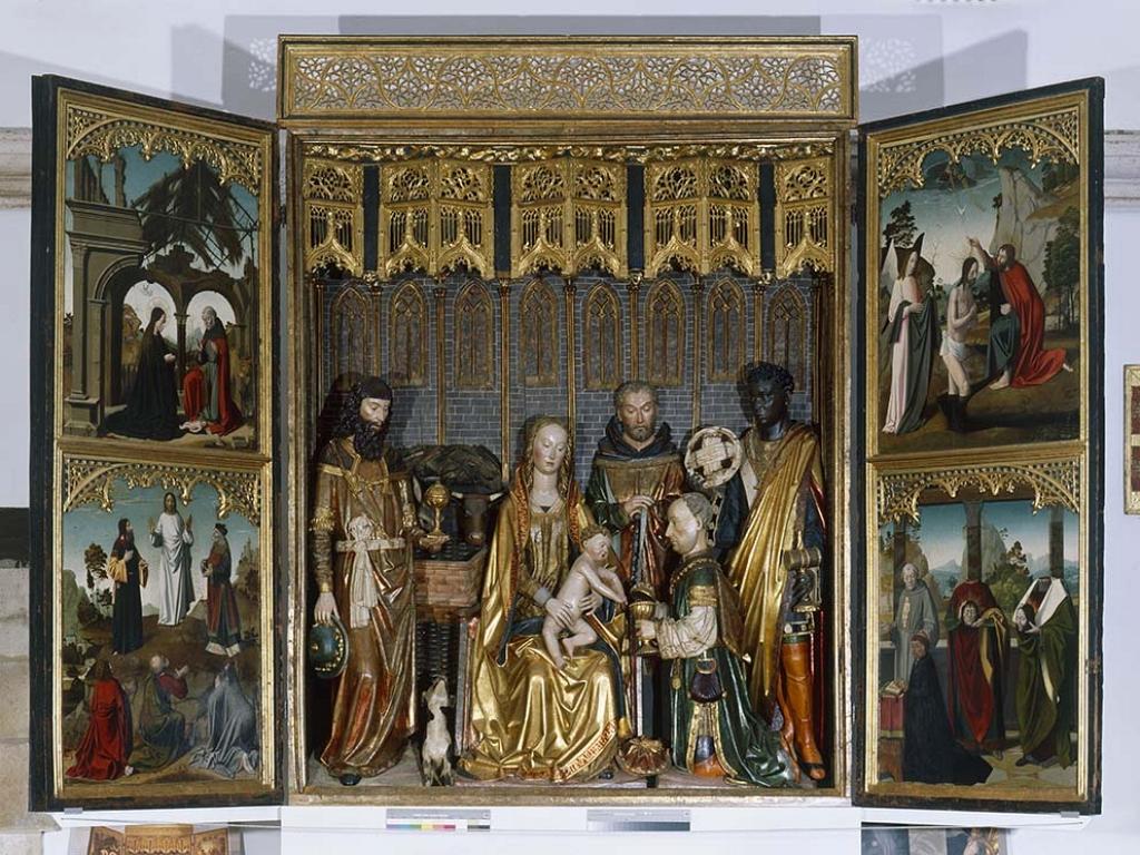 Covarrubias - Tríptico de La Adoración de los Magos