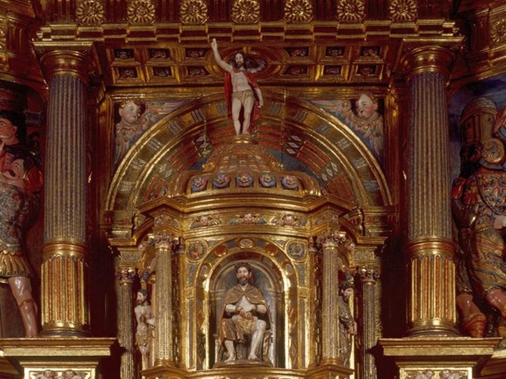 Mahamud - Retablo de San Miguel de la Iglesia Parroquial