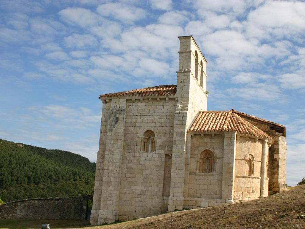Valle de Losa - Ermita de San Pantaleón de Losa