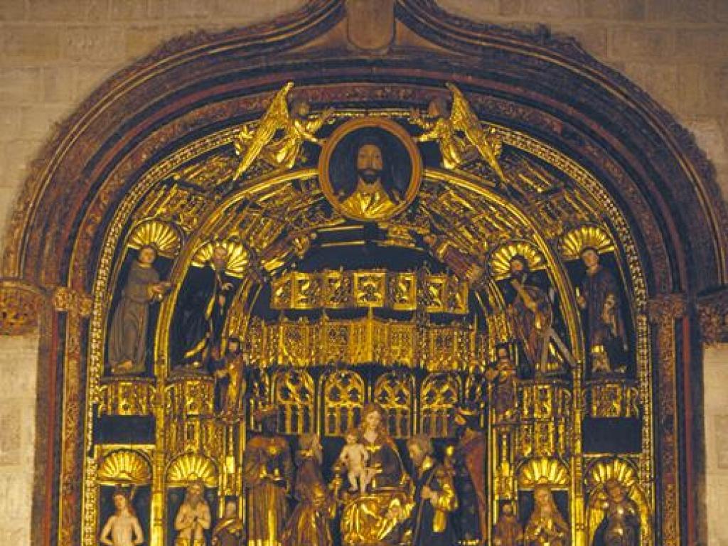 Burgos - Retablo de la Epifanía de la Iglesia de San Gil