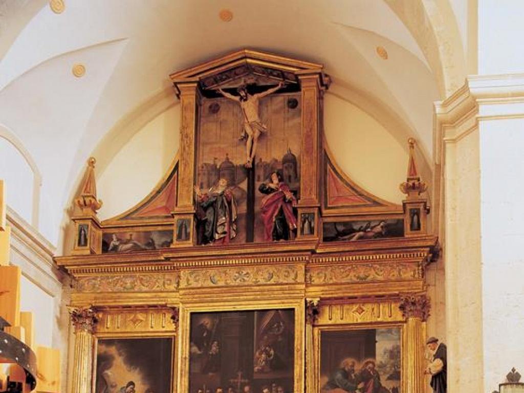 Caleruega - Retablo Mayor de la Iglesia del Monasterio de las MM. Dominicas