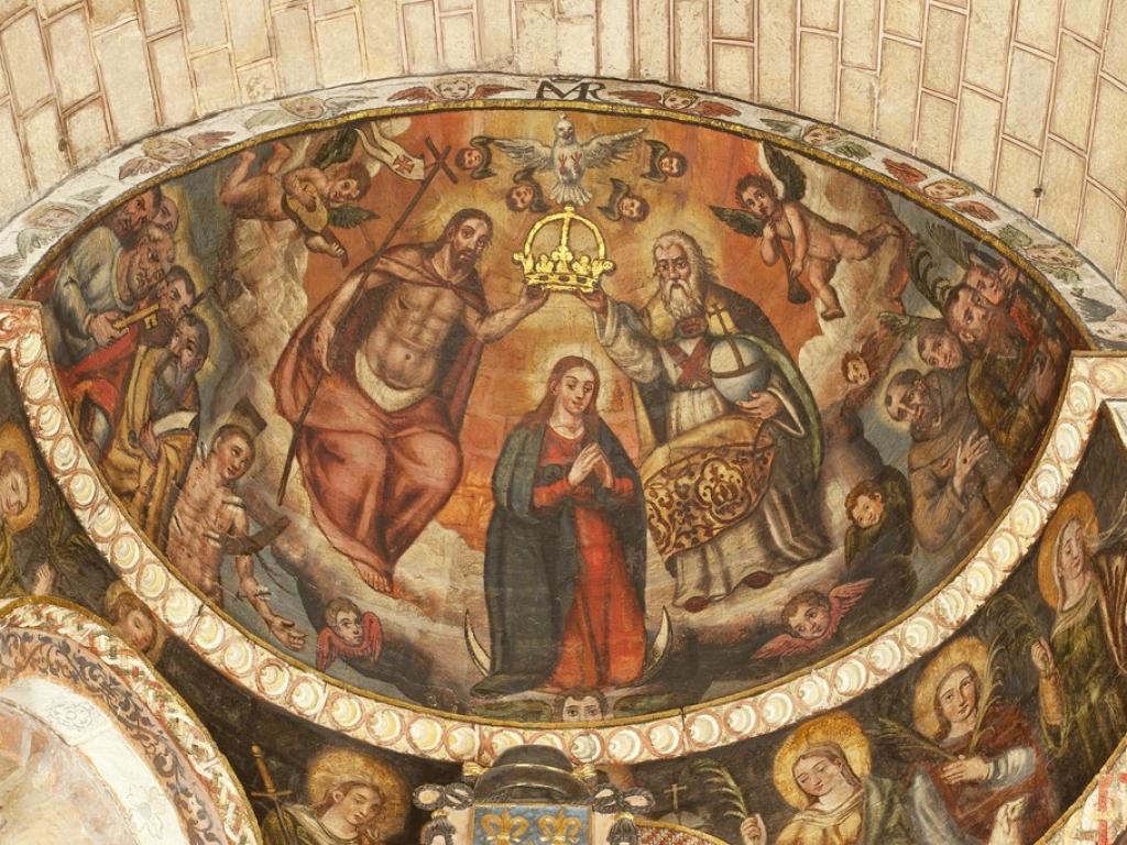 Ávila - Capillas de los ábsides de la iglesia de San Pedro Apóstol