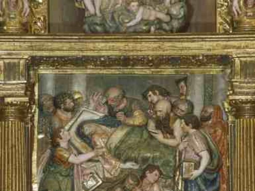 Los Balbases - Retablo de San Millán en la Iglesia de San Millán