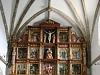 Aguaviva de la Vega - Retablo mayor de la iglesia de El Salvador