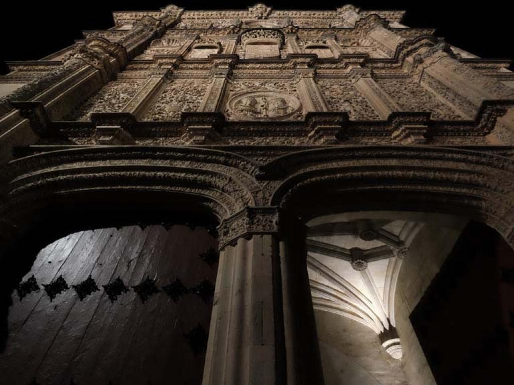 Detalle de la Fachada tras la restauración