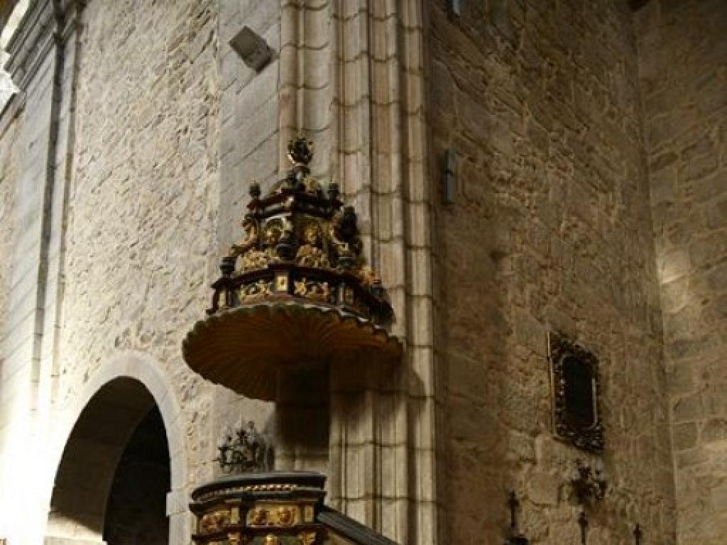 Púlpito de San Eutropio en El Espinar - Segovia