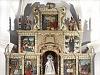 Valdeavellano de Tera - Retablo mayor de la iglesia de Nuestra Señora de la Paz
