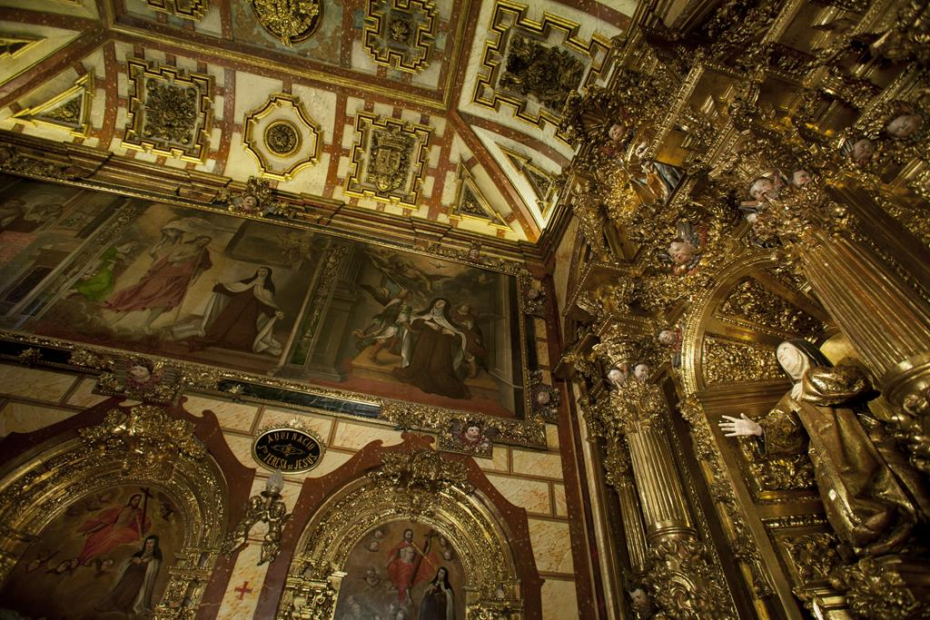 Ávila - Capilla del nacimiento de Santa Teresa de Jesús