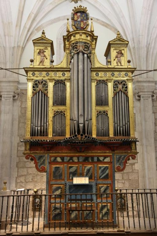 Lerma - Órgano del Evangelio de la colegiata de San Pedro