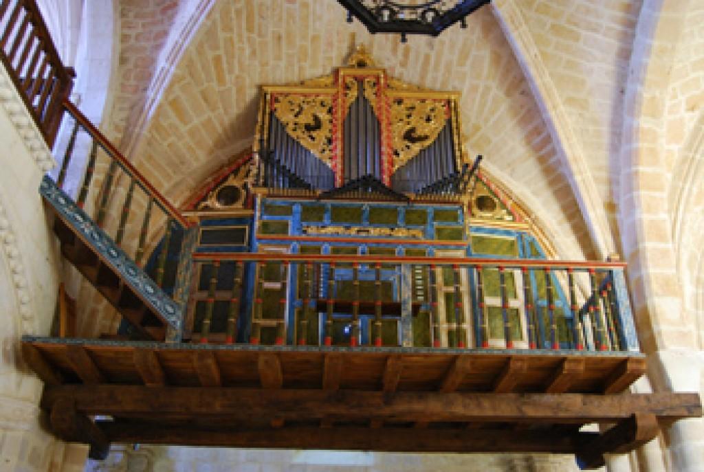 Medina de Pomar - Órgano del santuario de Nuestra Señora del Rosario